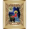 В рамке Моление о чаше Канва с рисунком для вышивки бисером Божья Коровка 0043