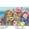 Количество цветов и сложность Милые котята Раскраска по номерам на холсте Molly KH0315