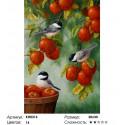 Яблоневый сад Раскраска по номерам на холсте Molly