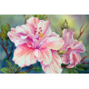 Красивый цветок Раскраска по номерам на холсте Molly KH0321