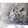 Количество цветов и сложность Белые тюльпаны Раскраска по номерам на холсте Molly KH0296
