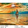 Количество цветов и сложность Заход солнца Раскраска по номерам на холсте Molly KH0299