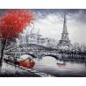 Париж Раскраска по номерам на холсте Molly KH0302