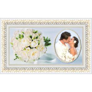 В рамке Свадьба Набор для вышивки бисером Золотое Руно ФТ-004