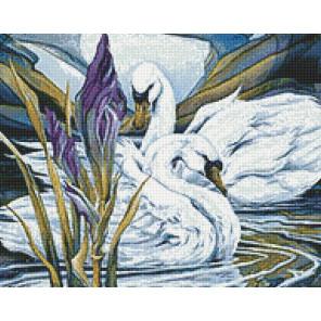 Раскладка Лебеди и ирисы AG2305