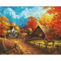 Раскладка Дорога в осень AG2306