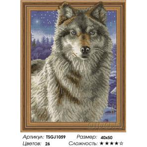 Количество цветов и сложность Вожак стаи Алмазная вышивка мозаика на подрамнике 3D TSGJ1059