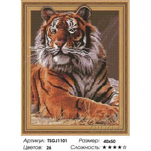 Количество цветов и сложность Хозяин джунглей Алмазная вышивка мозаика на подрамнике 3D TSGJ1101
