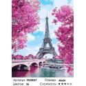 Сложность и количество цветов Весенняя Франция Раскраска картина по номерам на холсте PK24027