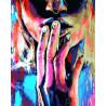 Разноцветная тишина Раскраска картина по номерам на холсте PK24013