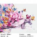 Черепаха и лотос Раскраска картина по номерам на холсте