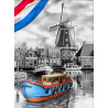 Голландская речка Алмазная вышивка мозаика АЖ-1749