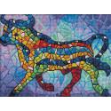 Бык в стиле Гауди Алмазная вышивка мозаика