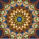 Мандала благополучия Алмазная вышивка мозаика АЖ-1756
