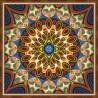 В рамке Мандала благополучия Алмазная вышивка мозаика АЖ-1756