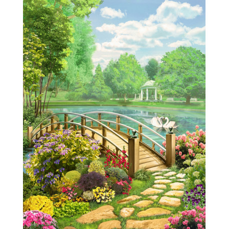 Солнечный день Алмазная вышивка мозаика АЖ-1767