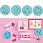 Сладости Форма силиконовая для полимерной глины Марта Стюарт Martha Stewart