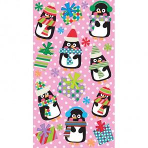 Пингвины в горошек Стикеры для скрапбукинга, кардмейкинга EK Success