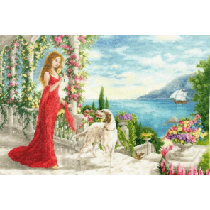 Весна в Крыму Набор для вышивания Золотое Руно ЧМ-066
