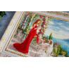 Фрагмент Весна в Крыму Набор для вышивания Золотое Руно ЧМ-066
