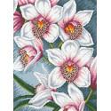 Орхидеи Алмазная мозаика вышивка Паутинка М-248