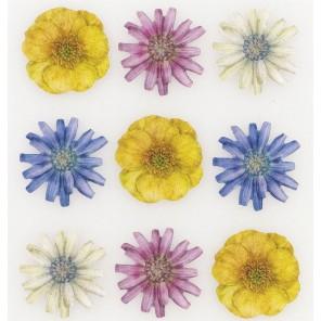 Цветы Tim Coffey Стикеры для скрапбукинга, кардмейкинга K&Company