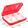 Красный Органайзер для мелкой фурнитуры