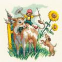 Лето в деревне Набор для вышивания Риолис 1828
