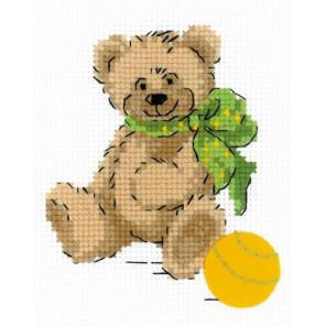 Медвежонок Набор для вышивания Риолис