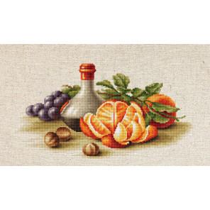Натюрморт с апельсинами Набор для вышивания Luca-S BL2250