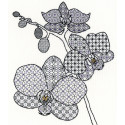 Орхидея Набор для вышивания Bothy Threads XBW2