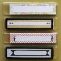 Клипсы и таблички для надписей Украшение Smash ( Смэш ) для скрапбукинга K&Company