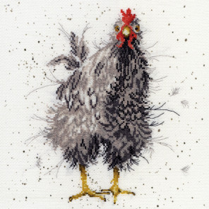 Любопытная курица Набор для вышивания Bothy Threads XHD17