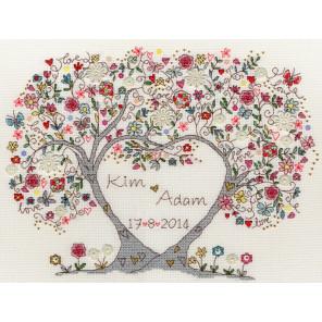 Любимые цветы Набор для вышивания Bothy Threads XKA4