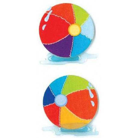 Мячи пляжные Стикеры для скрапбукинга, кардмейкинга EK Success