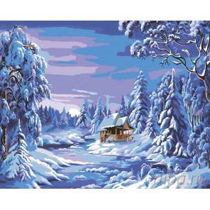 2 Волшебство зимы (художник Ники Боэм) Раскраска по номерам на холсте Живопись по номерам