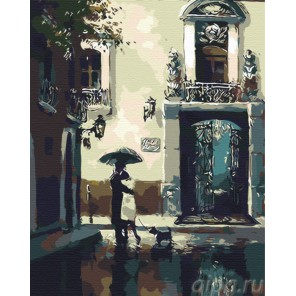 Объятия (репродукция Брента Хейтона) Раскраска по номерам акриловыми красками на холсте Живопись по номерам