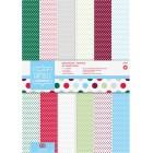 Spots & Stripes Festive Набор бумаги А4 для скрапбукинга, кардмейкинга Docrafts