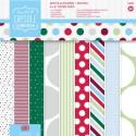 Spots & Stripes Festive 20х20 см Набор бумаги для скрапбукинга, кардмейкинга Docrafts