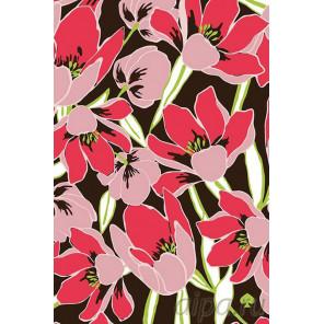 Раскладка Сад лилий Раскраска картина по номерам на холсте F39