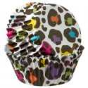 Леопард Набор бумажных форм для кексов Wilton ( Вилтон )