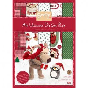 Boofle Christmas Набор бумаги A4 для скрапбукинга, кардмейкинга Docrafts