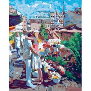 Встреча Раскраска картина по номерам на холсте LV09
