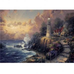 Мирный свет Раскраска картина по номерам акриловыми красками Plaid