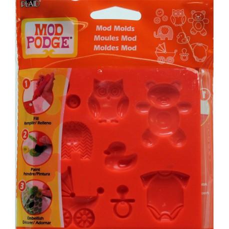 Малыш Силиконовый молд для создания украшений Mod Podge Plaid