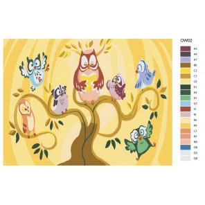 Раскладка Любимая сказка Раскраска картина по номерам на холсте KRYM-OW02
