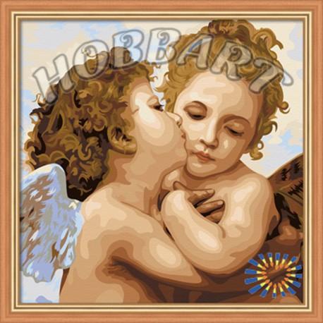 Ангелы Раскраска по номерам акриловыми красками на холсте Hobbart