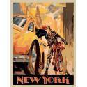 Вечерний Нью-Йорк Раскраска картина по номерам на холсте PA79