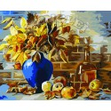 Осенний натюрморт Раскраска по номерам на холсте Menglei