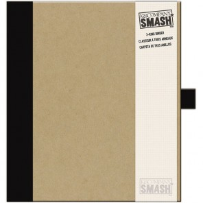 Черная Папка-скоросшиватель Смэшбук Smash K&Company